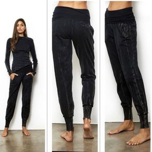 Young Fabulous & Broke Groove Marbled Jogger Pants